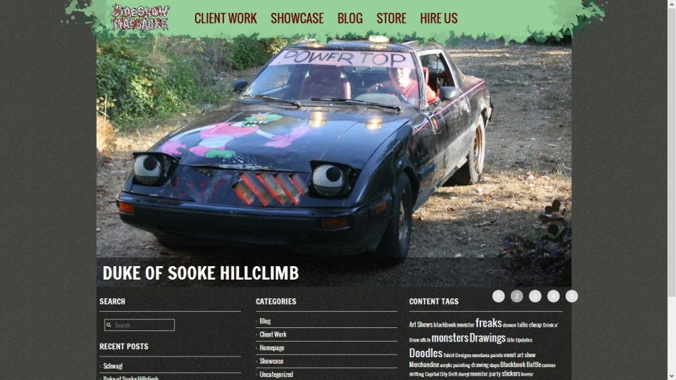 SSM New Site Screencap